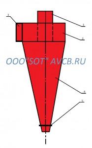 """СК-ЦН-22 от ООО """"СОТ"""" - лидер производства циклонов в России."""